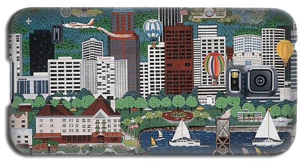 Portland Waterfront Galaxy S5 Case by Jennifer Lake