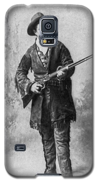 Portrait Of Calamity Jane Galaxy S5 Case by Underwood Archives