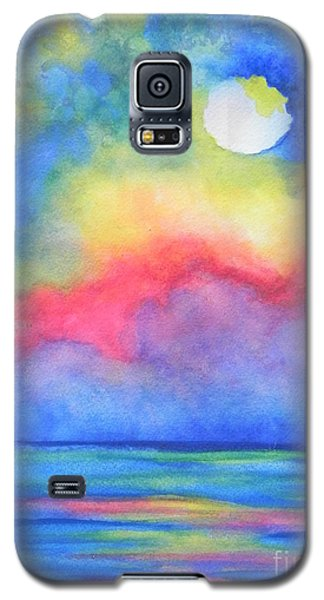 Galaxy S5 Case featuring the painting Power Of Nature  by Chrisann Ellis