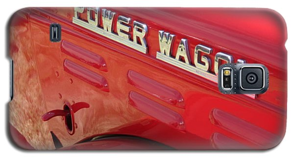 Power Wagon Galaxy S5 Case by David S Reynolds