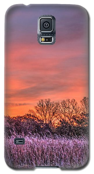 Illinois Prairie Moments Before Sunrise Galaxy S5 Case