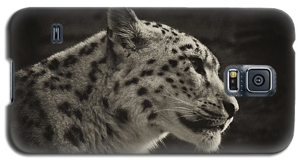 Profile Of A Snow Leopard Galaxy S5 Case
