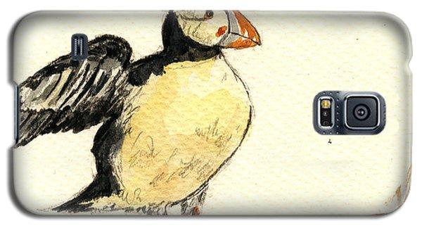 Puffin Bird Galaxy S5 Case
