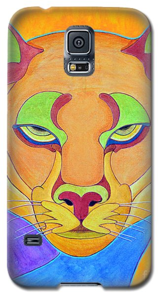Galaxy S5 Case featuring the painting Puma 1 by Joseph J Stevens