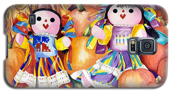 Pumpkin Patch Party Galaxy S5 Case