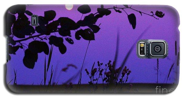 Purple Moon Galaxy S5 Case