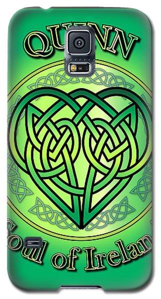 Quinn Soul Of Ireland Galaxy S5 Case by Ireland Calling