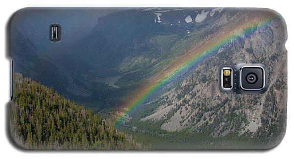 Rainbow At Beartooth Pass Galaxy S5 Case