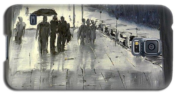 Rainy City Street Galaxy S5 Case