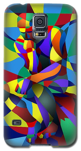 Galaxy S5 Case featuring the digital art Randy's Rodin by Randall Henrie