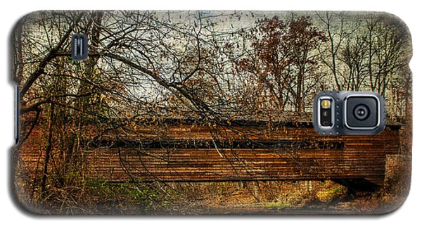 Rapps Dam Covered Bridge Galaxy S5 Case by Judy Wolinsky