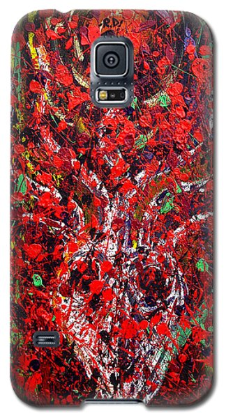 Recurring Face Galaxy S5 Case by Ryan Demaree