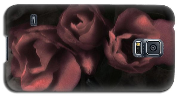 Red Bloom Galaxy S5 Case