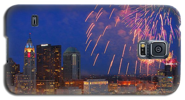 Red White And Boom Photo Galaxy S5 Case