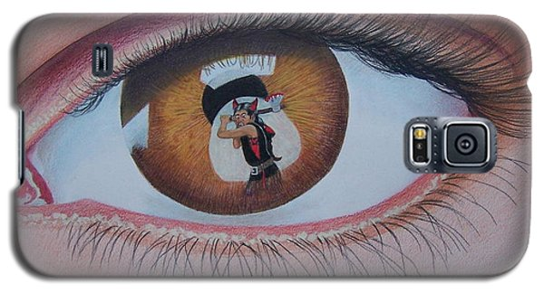 Reflections In A Golden Eye Galaxy S5 Case