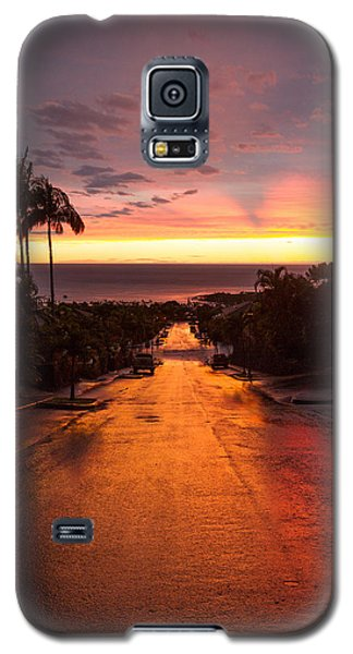Sunset After Rain Galaxy S5 Case