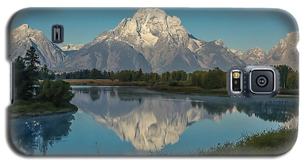 Reflections Of Mount Moran Galaxy S5 Case