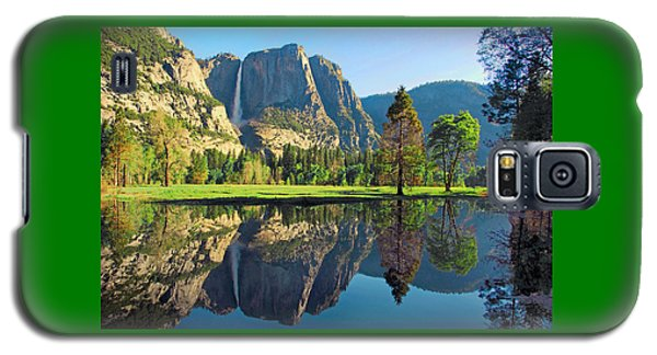 Reflections Of Yosemite Falls Galaxy S5 Case