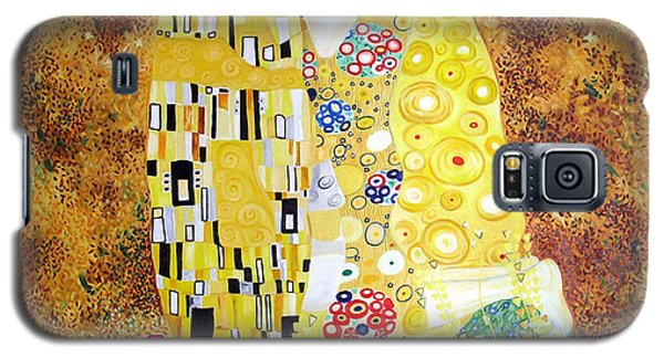 Reproduction Of - The Kiss By Gustav Klimt Galaxy S5 Case by Ze  Di