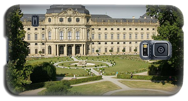 Galaxy S5 Case featuring the photograph Residenz Wurzburg  by Christian Zesewitz