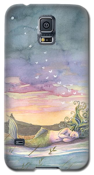 Rest On The Horizon Galaxy S5 Case by Sara Burrier