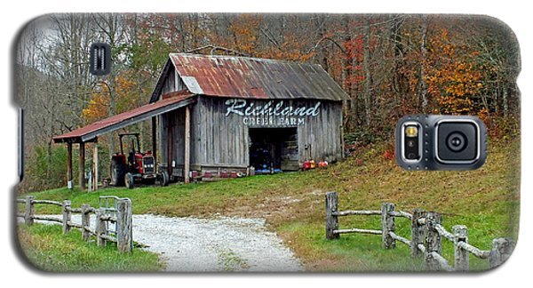 Richland Creek Farm Barn Galaxy S5 Case