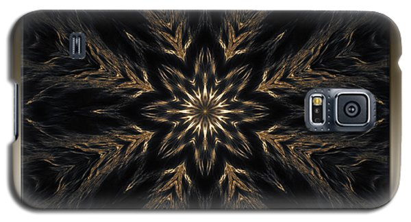 Ripples Of Gold Galaxy S5 Case by Michele Kaiser