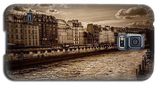 River Seine Paris Galaxy S5 Case