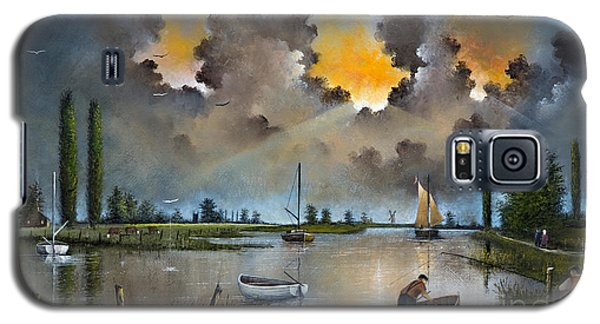 River Yare On The Broads Galaxy S5 Case