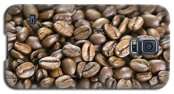 Galaxy S5 Case featuring the photograph Roasted Coffee Beans by Lee Avison