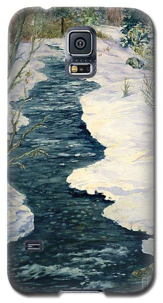 Rock Creek Winter Galaxy S5 Case