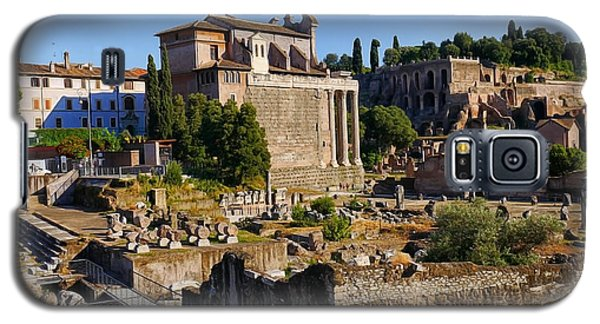 Roman Ruins 3 Galaxy S5 Case
