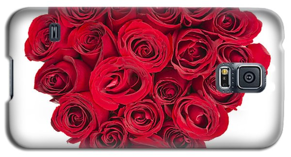 Rose Heart Galaxy S5 Case