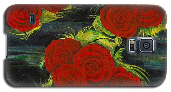Roses Floating Galaxy S5 Case
