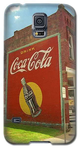 Route 66 - Coca Cola Ghost Mural Galaxy S5 Case by Frank Romeo