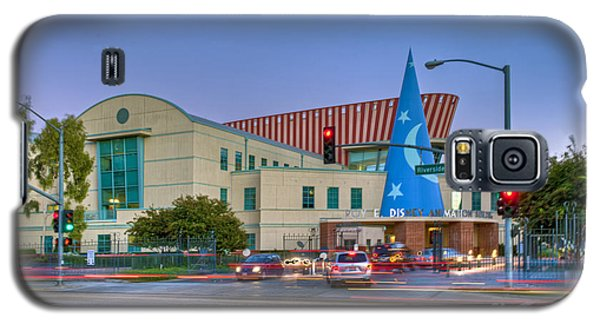 Roy E. Disney Animation Building In Burbank Ca. Galaxy S5 Case by David Zanzinger