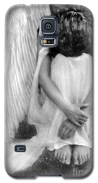 Sad Angel Woman Galaxy S5 Case