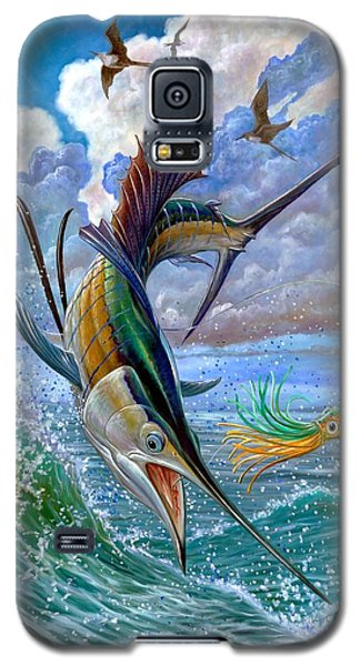 Sailfish And Lure Galaxy S5 Case