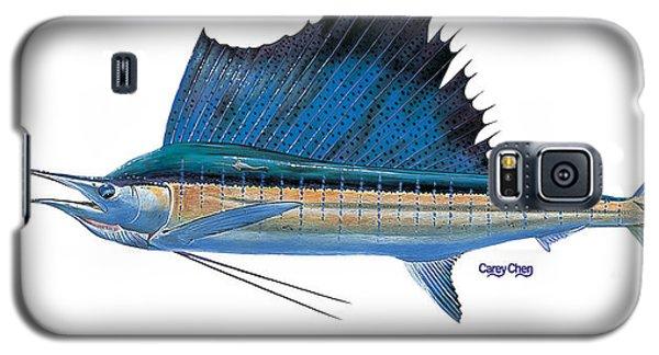 Swordfish Galaxy S5 Case - Sailfish by Carey Chen