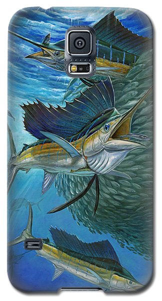 Sailfish With A Ball Of Bait Galaxy S5 Case