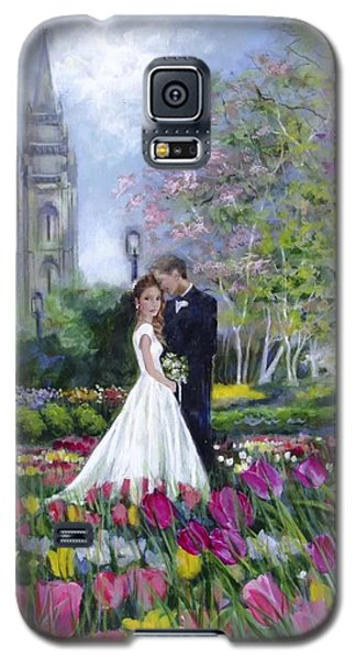 Salt Lake Temple-married In Spring Galaxy S5 Case