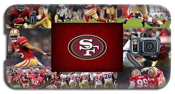 San Francisco 49ers Galaxy S5 Case by Joe Hamilton