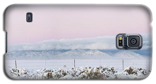 Sangre De Cristo Galaxy S5 Case - Sangre De Cristo Range With Clouds by Panoramic Images