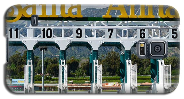 Santa Anita Starting Gate Galaxy S5 Case