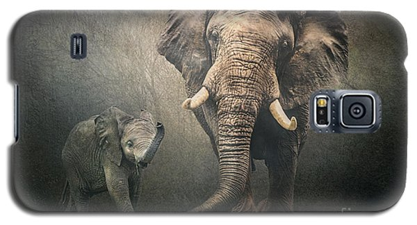 Galaxy S5 Case featuring the photograph Save The Elephants by Brian Tarr