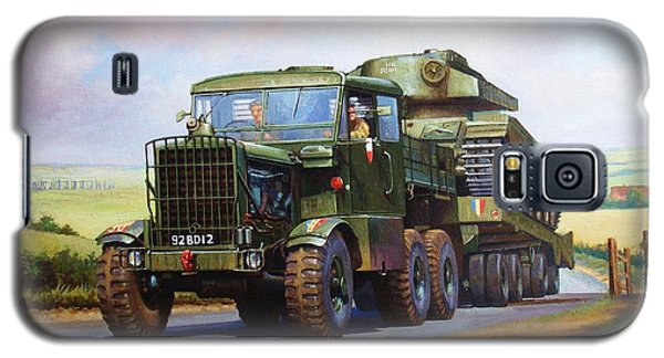 Scammell Explorer. Galaxy S5 Case by Mike  Jeffries