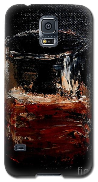 Galaxy S5 Case featuring the painting Scotch Neat by Fred Wilson