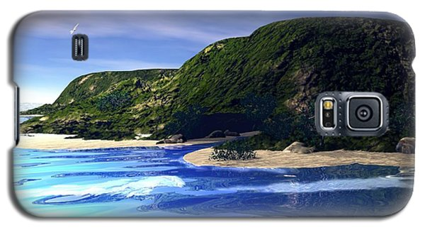 Sea Cave Galaxy S5 Case by John Pangia