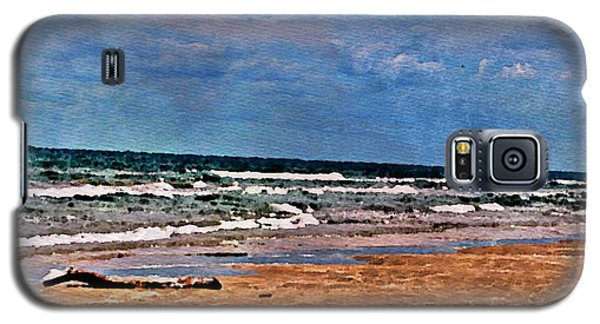 Sea Sand Wc Galaxy S5 Case
