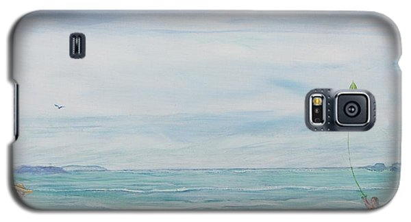 Seabreeze Beach Galaxy S5 Case by Cathy Long